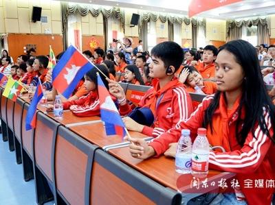 七国少年中国行手拉手活动团走进宁德