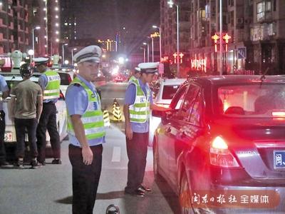 福安交警开展酒驾醉驾毒驾统一行动 查处交通违法行为256起