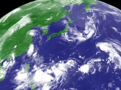 """""""五旋""""共舞形成罕见的台风极盛期 短期内不会影响福建"""