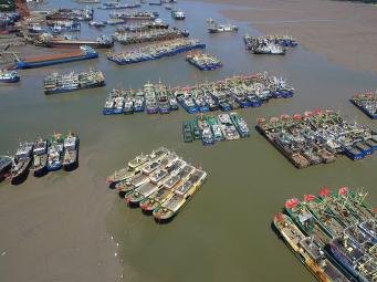 遭遇台风前后渔业如何防台