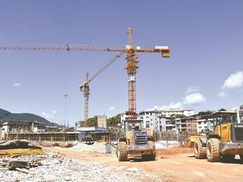 古田一小分校区项目建设预计于2019年6月完成竣工验收
