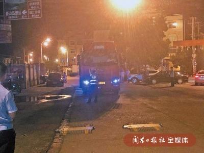 货车司机与村民发生冲突 福鼎交警及时化解矛盾