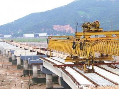 霞浦县东冲路建设项目A3标段磺砂特大桥预计2019年1月15日前实现限制性通车