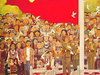 红色的喜悦——美术作品中的国庆