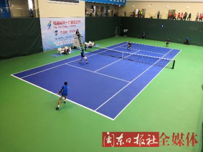 省运会行业部网球比赛落幕