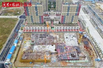"""宁德市""""四大馆""""项目预计2019年春节前完成主体结构封顶"""