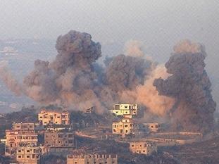 一声巨响!以色列军队再炸黎巴嫩真主党地道