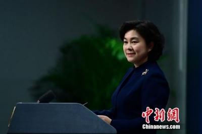"""外交部:坚决反对美签署""""2018年对等进入西藏法案"""""""