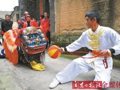 赤溪青狮:百年技艺 传承不息