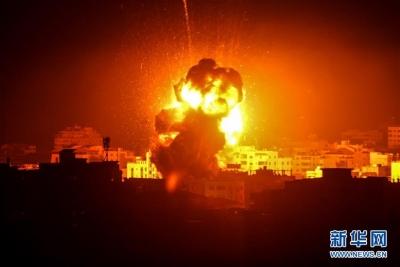 以色列对加沙地带实施报复性空袭
