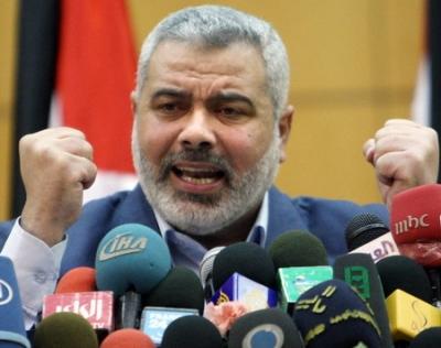 """哈马斯领导人呼吁巴勒斯坦形成合力应对美""""世纪协议"""""""