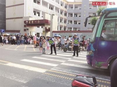 屏南网友纷纷表示用实际行动为孩子们让路