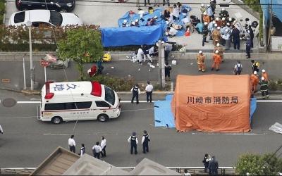 日本川崎持刀伤人案16人被刺伤 2人失去生命体征