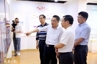 新华社新闻研究所所长李仁虎一行到闽东日报社调研