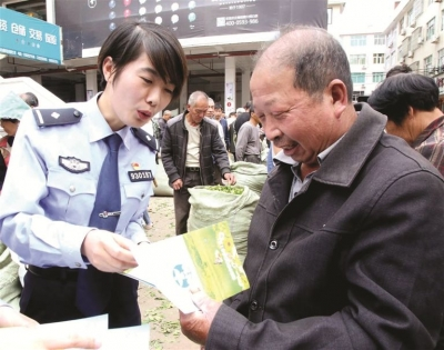 """福鼎市公安局""""栀子花""""宣讲小分队开展禁毒宣讲活动"""