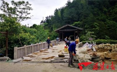 全国重点文物保护单位鸾峰桥修复完成,投入使用