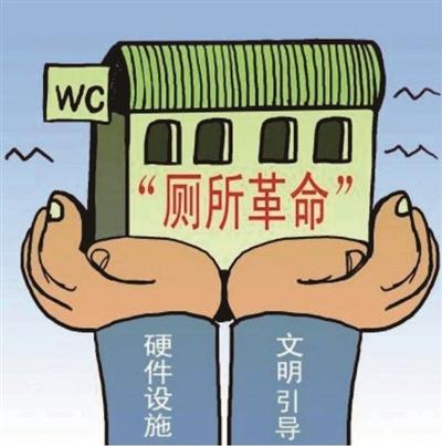 """全面加强人居环境整治 大力促进农村""""厕所革命"""""""