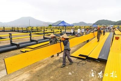 霞浦溪南:多措并举,推进海上养殖设施升级改造