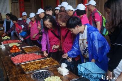 古田县组织海峡两岸妇女代表、旅游业界代表开展交流活动