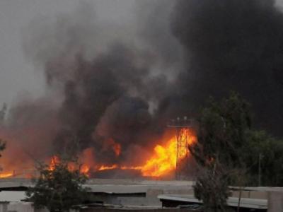 """""""瞄准""""美国企业?伊拉克石油园区遭火箭弹袭击"""