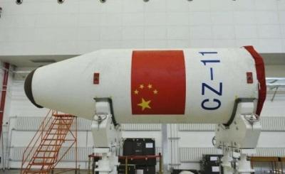 长征十一号运载火箭将在中国黄海海域进行首次海上发射