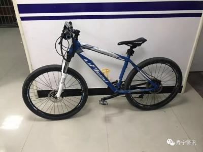 寿宁警方破获盗窃案  三辆自行车待认领