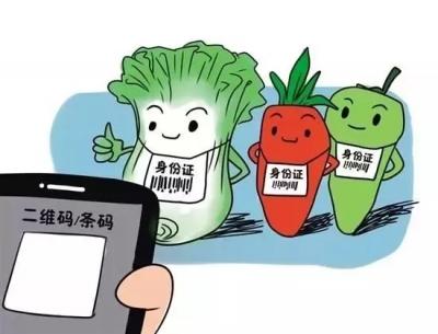 """蕉城区开展食用农产品""""一品一码""""专项巡查工作"""