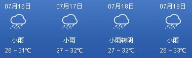 本周我市以高温闷热天气为主