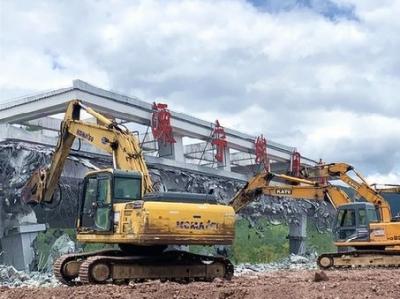 福建省高速公路首个省界收费站拆除