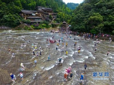 屏南:天然水上乐园 清凉度夏