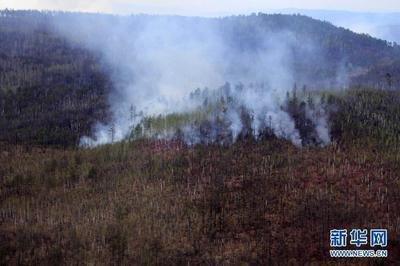 内蒙古大兴安岭北部原始林区西口子火场明火已扑灭
