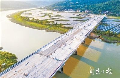 福安韩赛快速通道廉首大桥项目有望于今年10月建成