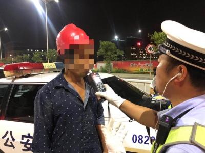 东侨交警一晚查处12起酒驾