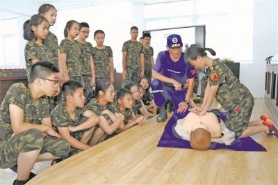柘荣:军事研学夏令营让孩子体验军旅生活