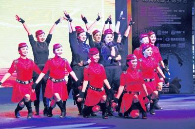 2019年交通银行广场舞大赛在宁德联信财富广场举行