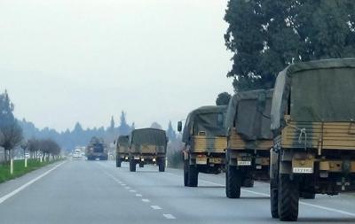 """叙境内库尔德武装从边境撤离 为""""安全区""""腾地方"""