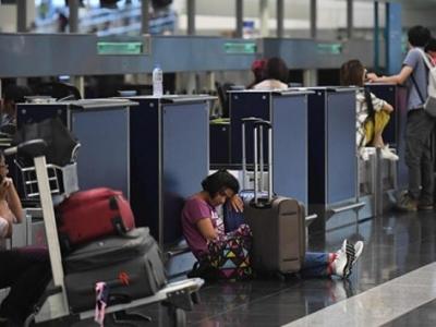 香港机管局继续实施航班重新编配,今日约130班航班被取消