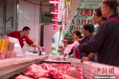 发改委:猪肉价格趋于稳定 涨幅较8月份明显收窄