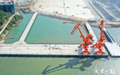 港通四海  服务上汽 ——漳湾作业区7号泊位项目顺利完工