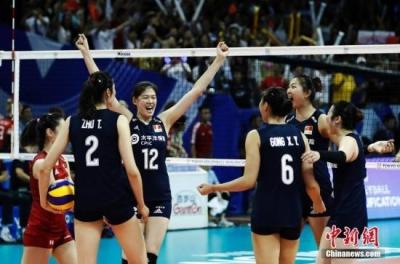 女排世界杯:中国女排3:0轻取肯尼亚 获八连胜
