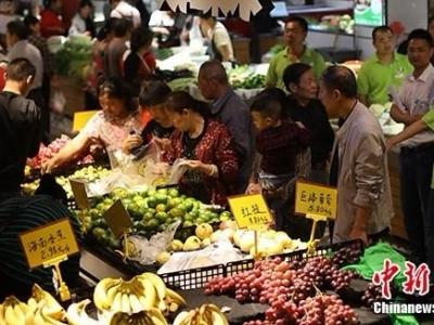 统计局:8月CPI同比上涨2.8% 食品价格上涨10.0%