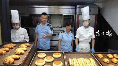 市、东侨市场监管局开展月饼专项检查