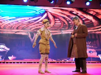 儿童音乐舞台剧《匹诺曹奇遇记》在我市上演