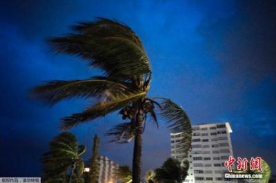 """飓风""""多里安""""在巴哈马致5人死亡 部分建筑损毁"""