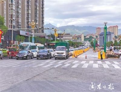 中心城区15个路口将优化改造