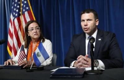 美国与萨尔瓦多签署移民协议 受到一些人反对