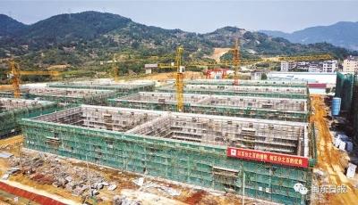 1-8月在建市重点项目超序时推进