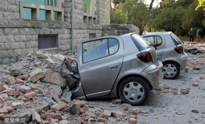 阿尔巴尼亚遭遇30年来最强地震 至少108人受伤