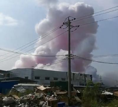 广西玉林陆川一化工厂发生爆炸 已致4死6伤