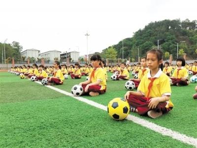 我市新增13所全国足球特色校